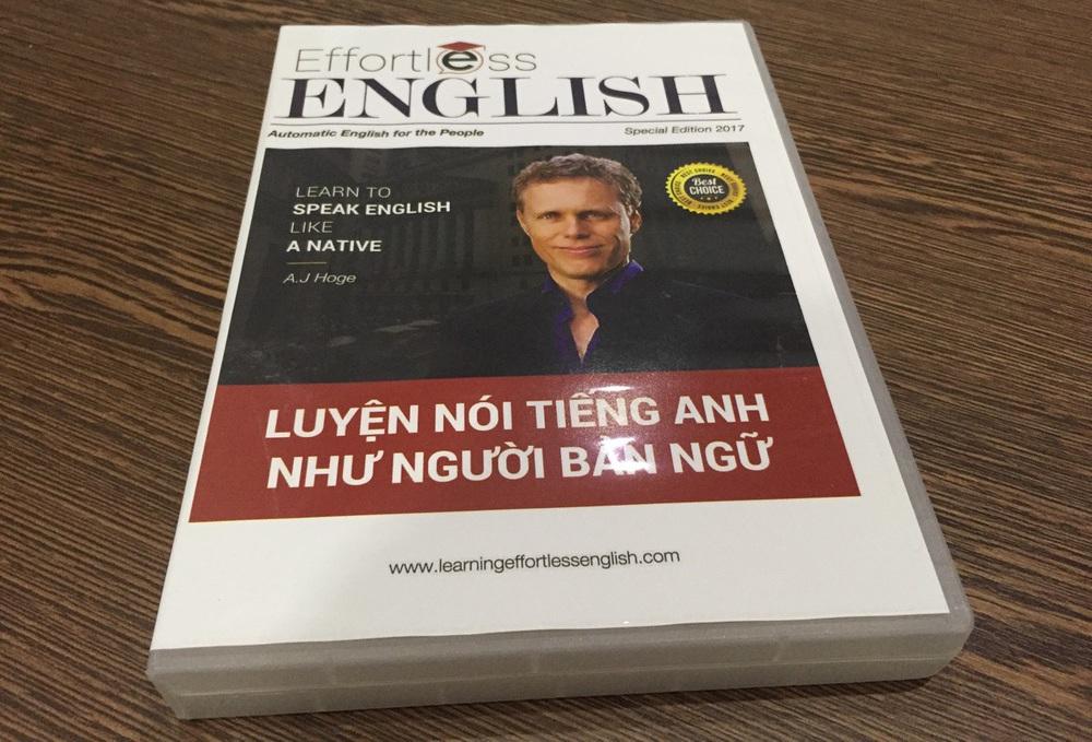 Effortless English: giáo trình luyện nói tiếng Anh như người bản ngữ của thầy AJ Hoge.