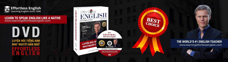 Hướng dẫn học Effortless English miễn phí