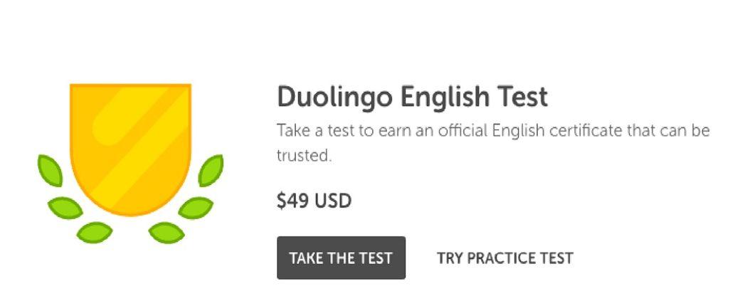 Duolingo English Test