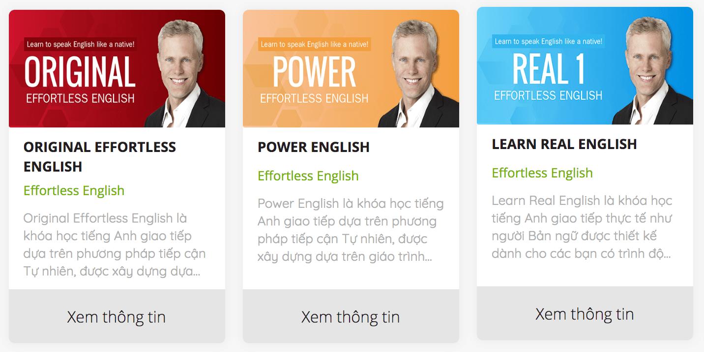 Effortless English Online